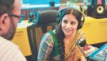 "Vidya Balan fine-tunes her voice in ""Tumhari Sulu"""