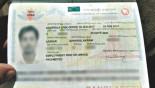 Erroneous visa finally fixed