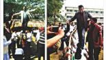 HC questions Nur Hossain bail for walking on 'human bridge'