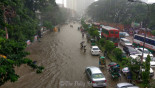City people suffer on waterlogged roads