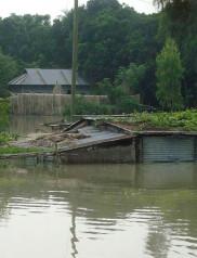 rail communication, Bangladesh, Jamalpur, flood, heavy rainfall, Dewanganj, train service, train communication, rail service