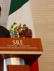 Mexico's Foreign Minister Luis Videgaray