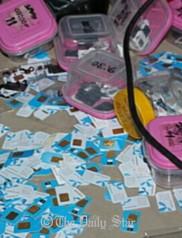 VoIP equipment, Sankipara, Mymensingh, SIM cards, detention, arrest, Robi, Airtel, Grameen Phone, mobile operators