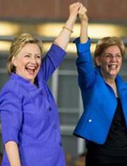 AP, Elizabeth Warren, Clinton, Democratic presidential candidate Hillary Clinton, Cincinnati Museum Center,
