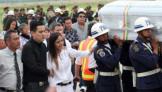 Bodies of Brazil football team head home
