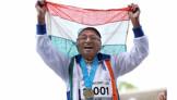 India's inspirational centenarian wins gold