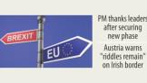 EU opens next Brexit phase
