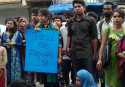 Brac University students continue protest