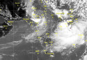 Deep depression turns cyclonic storm 'Komen'