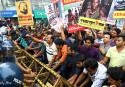 Cops foil Gonojagoron Mancha's demo to besiege Myanmar Embassy