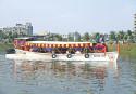 Hatirjheel water taxi service launched