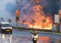 Thousands flee as fires hit Israel's Haifa