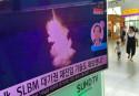 Satellite photos show NKorea preparing submarine missile test