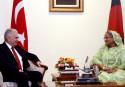 Bangladesh, Turkish premiers agree to work together on Rohingya crisis