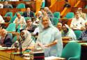 Per capita income US$ 12,000 by 2041, Hasina tells JS