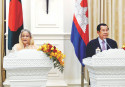 Resolving Rohingya Crisis: Hasina seeks support from Cambodia