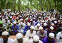 Rohingya refugees in Bangladesh mark Eid after fleeing violence
