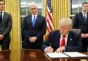Trump signs new travel ban order, Iraq left off
