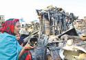 Korail Slum Blaze