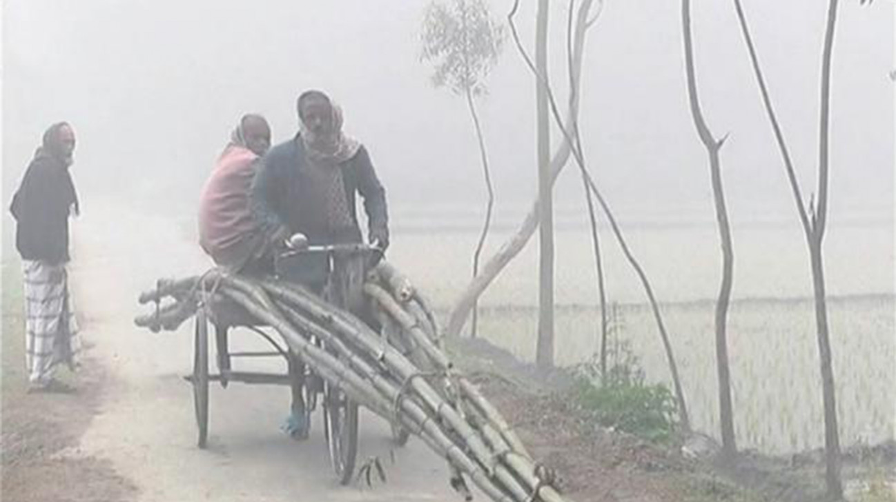 Lowest temperature in Bangladesh on January 8, 2018