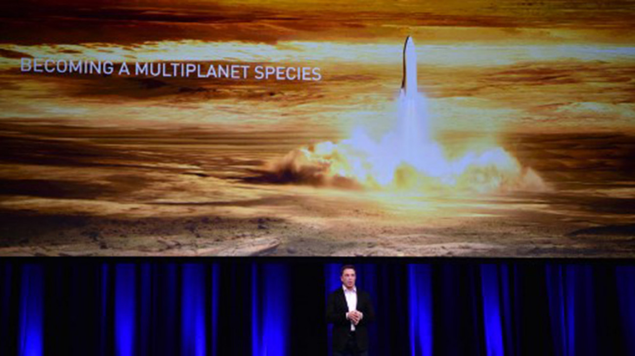 Spacex targets 2024 for manned Mars mission