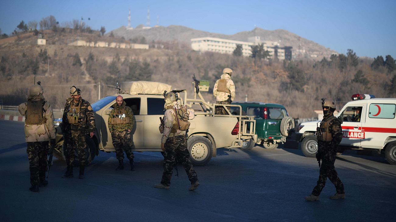Hostage situation in Kabul's Intercontinental hotel, casualties feared