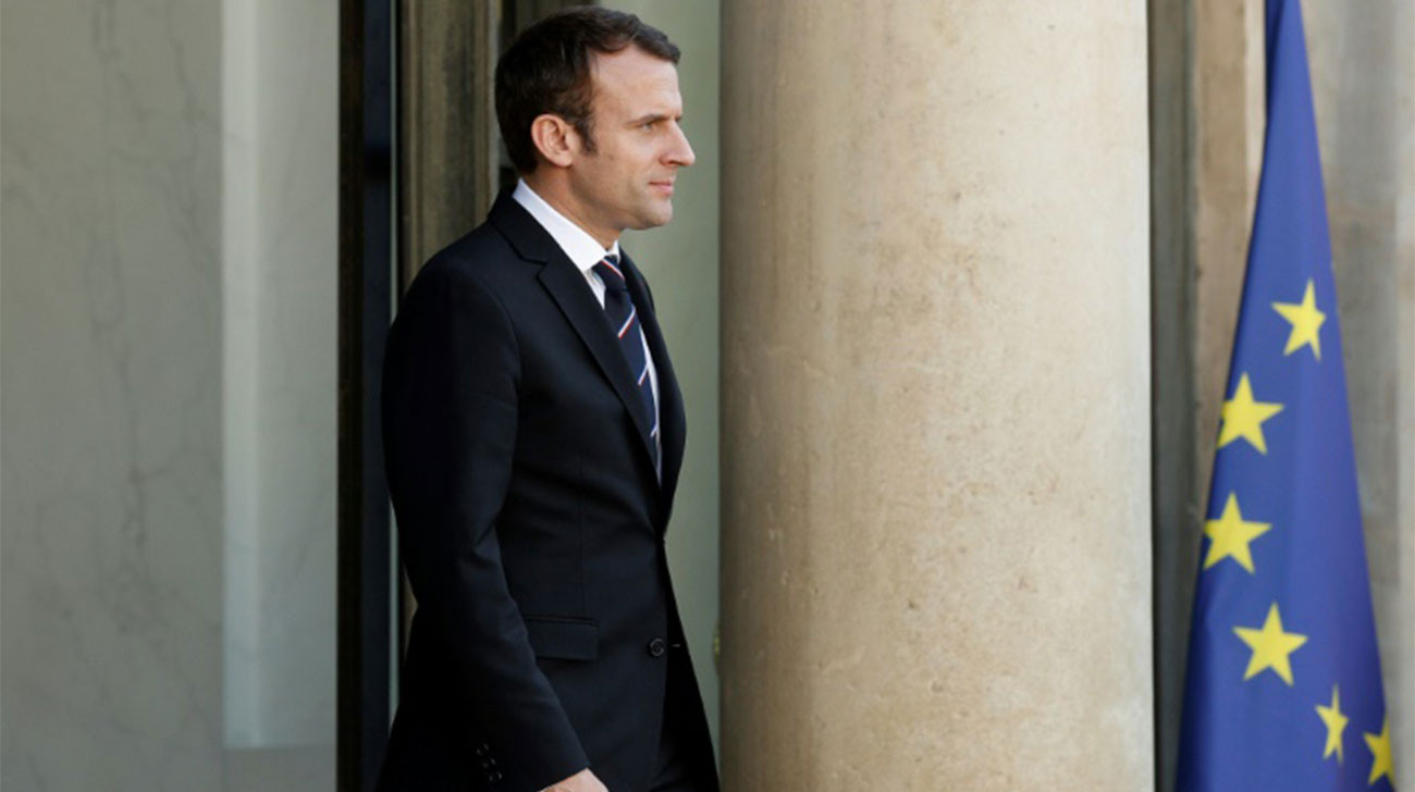 Macron to meet European Union's Donald Tusk in Paris