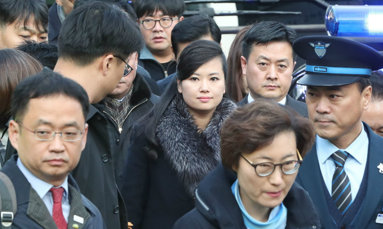 North Korean woman band chief heads delegation to South