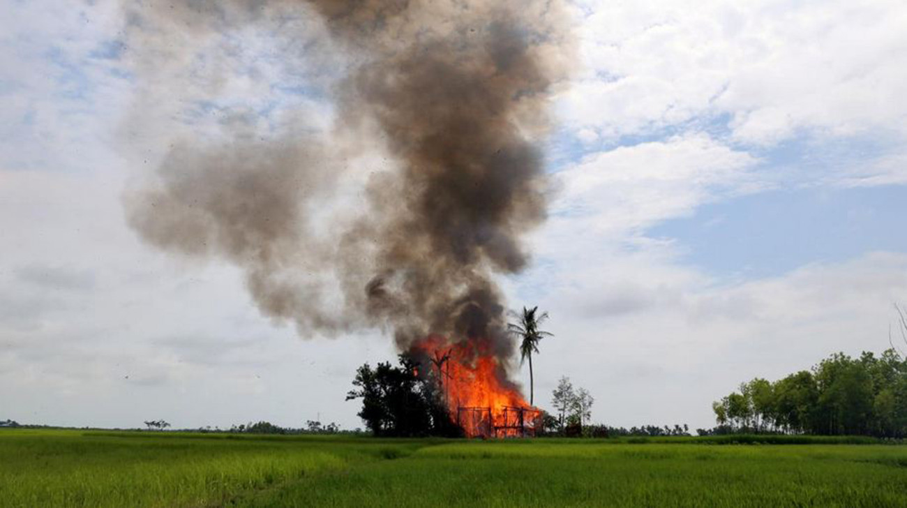 US says recognized goal for sanctions over Myanmar…