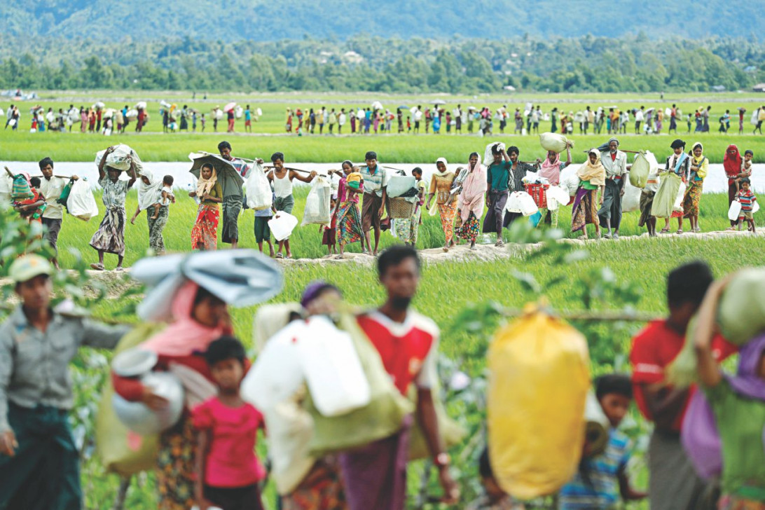 U.S. expresses concern over Rohingya crisis