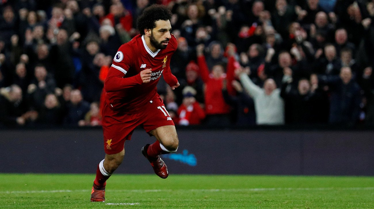 Mohamed Salah scoops Liverpool Player of the Month award