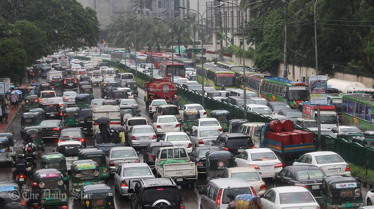 Shahbagh-Dhaka-traffic-jam