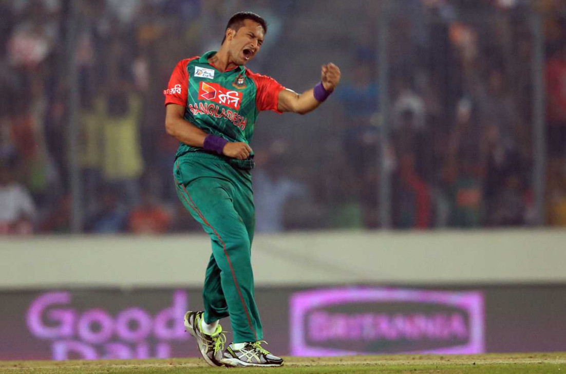 Shakib strikes after Mashrafe