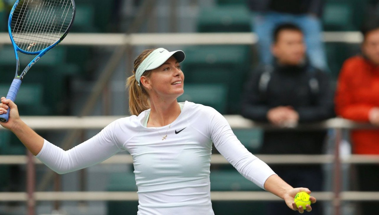 Maria Sharapova eases into semifinals of Tianjin Open