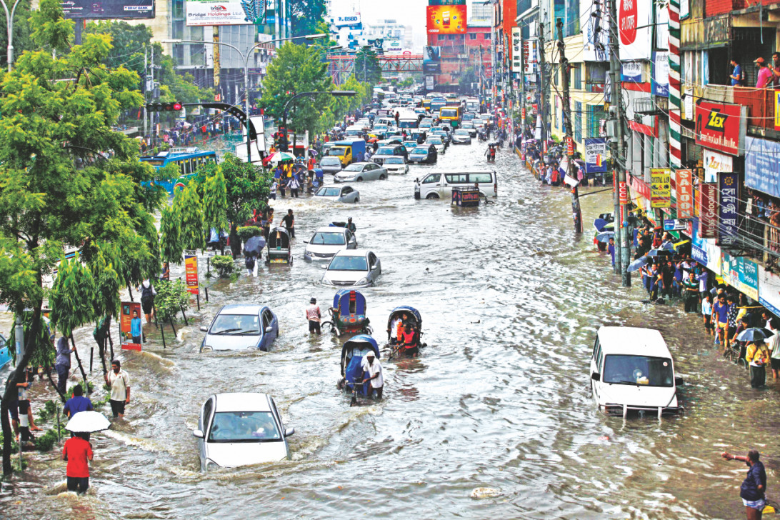 Dhaka Deluged | The Daily Star