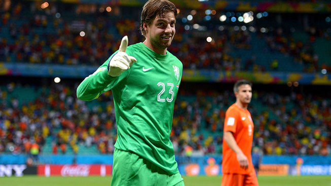 Told penalty takers I knew their plan: Krul