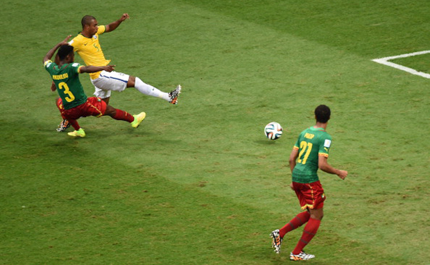 Brazil group champions as Cameroon lose 1-4
