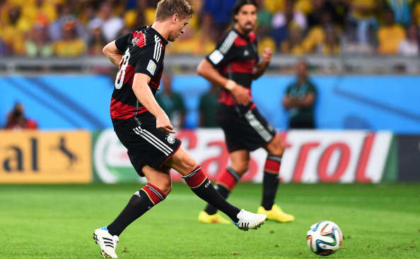 Toni Kroos of Germany scores his second and his team's fourth goal during the 2014 FIFA World Cup Brazil Semi Final match between Brazil and Germany at Estadio Mineirao on July 8, 2014 in Belo Horizonte, Brazil. Photo: Getty Images
