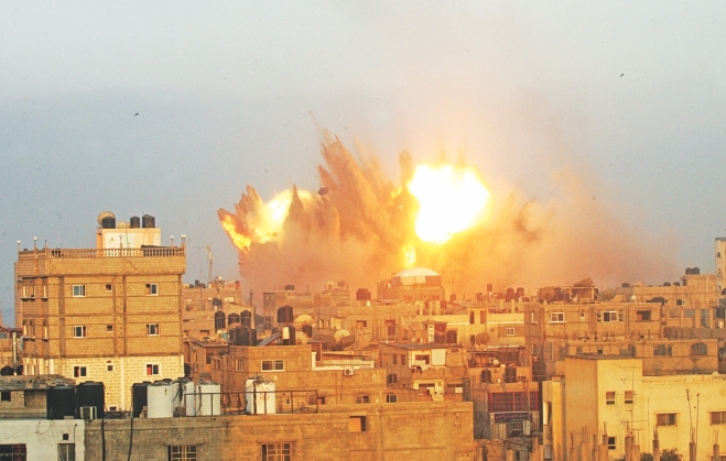 Israel widens Gaza assault