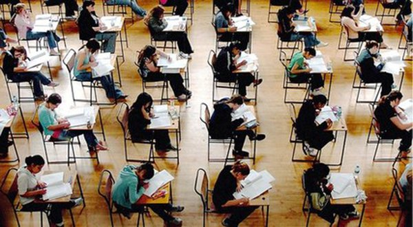 Moment of truth: Teenagers are finding out their A-level results. Photo: BBC