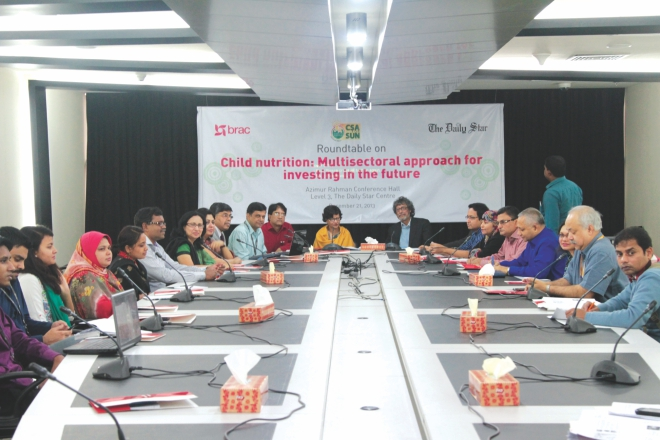 Child Nutrition: Multisectoral Approach For Investing In The Future