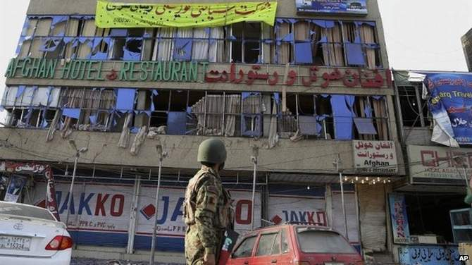 "The ""multi-pronged attack"" targeted a police station in the city of Jalalabad"