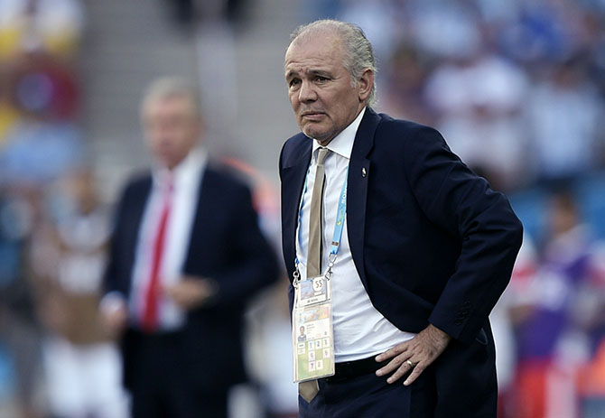 Alejandro Sabella. Photo: Getty Images