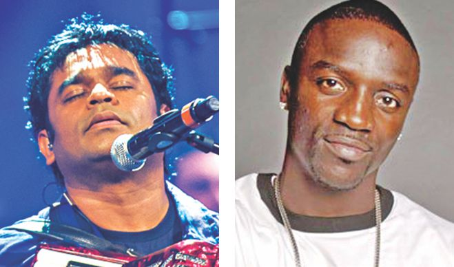 AR Rahman and Akon