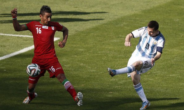 Iran hold Messi till last minute