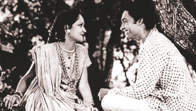 "A scene from ""Acchut Kanya""."