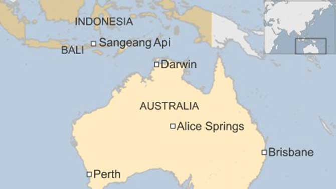Australia flights resume as volcanic ash disperses