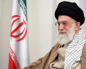 Ayatollah 'Ali Khamenei.