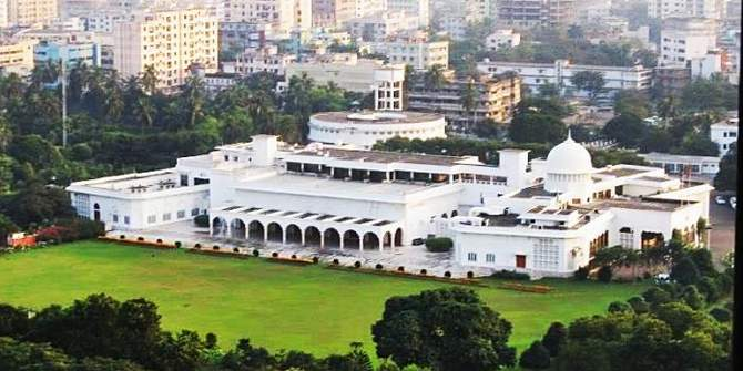 An aerial view of Bangabhaban (the official residence of the President of Bangladesh) in Dhaka. Photo: Star/File