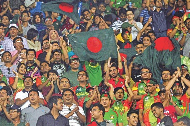 Crowd was the heart of this ICC World Twenty20 in Bangladesh. They were fantastic be it in Dhaka, Chittagong or Sylhet. Photos: Star File
